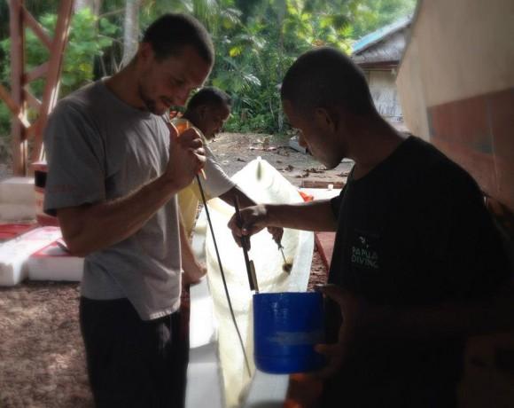 Papuan Team work